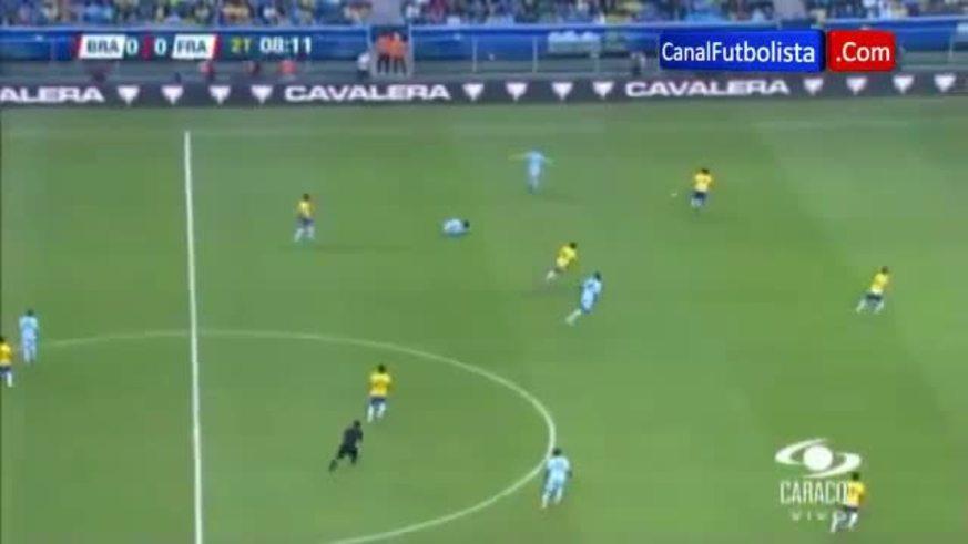 Los goles de Brasil 3 - Francia 0