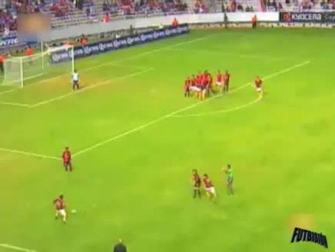Momento en que el argentino protagoniza el incidente (You Tube).