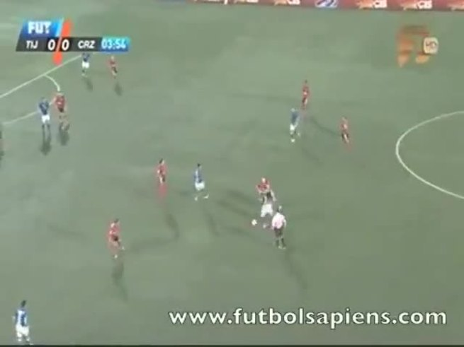 Mirá los goles de Tijuana 2 - Cruz Azul 2.