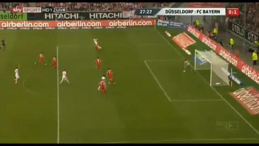 Mirá la goleada del Bayer Munich al Fortuna Dusseldorf.