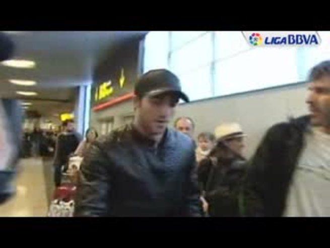 La llegada de Higuaín a Madrid. (Ligabbva)