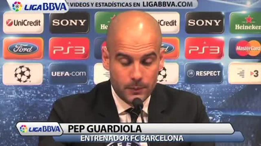 Mirá lo que dijo Guardiola sobre Messi.