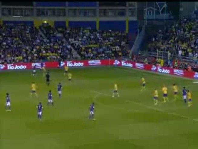Mirá los goles de Brasil y el penal de Pato a lo Palermo.