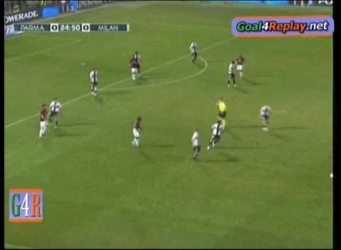 El increíble gol de Pirlo. (www.Goal4replay.com)