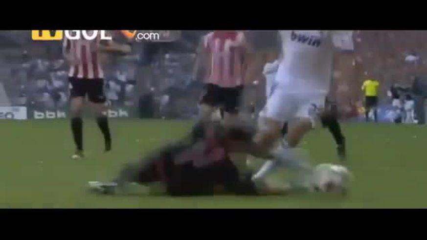 Los penales a Di María y los goles del Real Madrid.