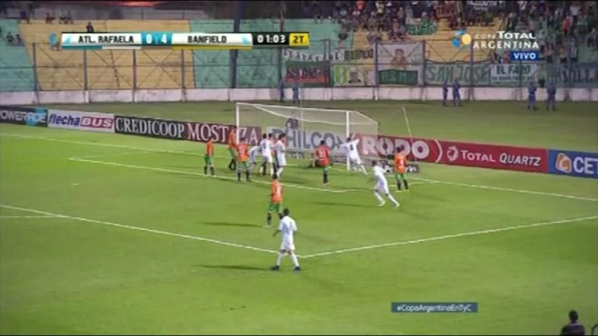 Dos goles en un minuto para Atlético Rafaela