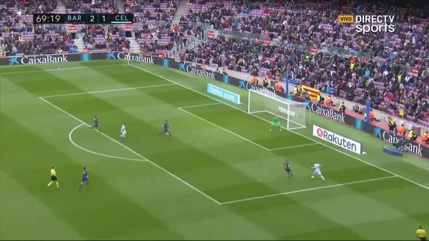 Gomez puso el 2 a 2 para el Celta