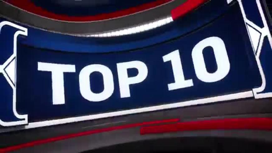 El Top 10 de la NBA del domingo 10/12/17.