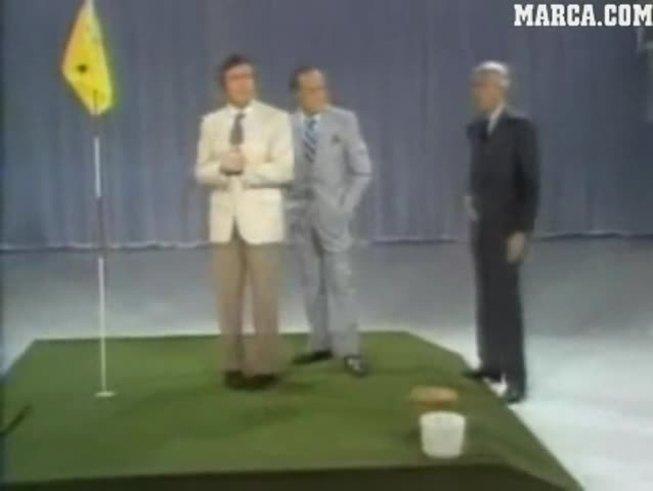 Mirá cómo Tiger Woods ya jugaba al golf desde purrete.