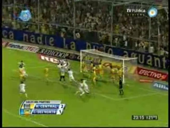 Mirá el gol de Carrizo