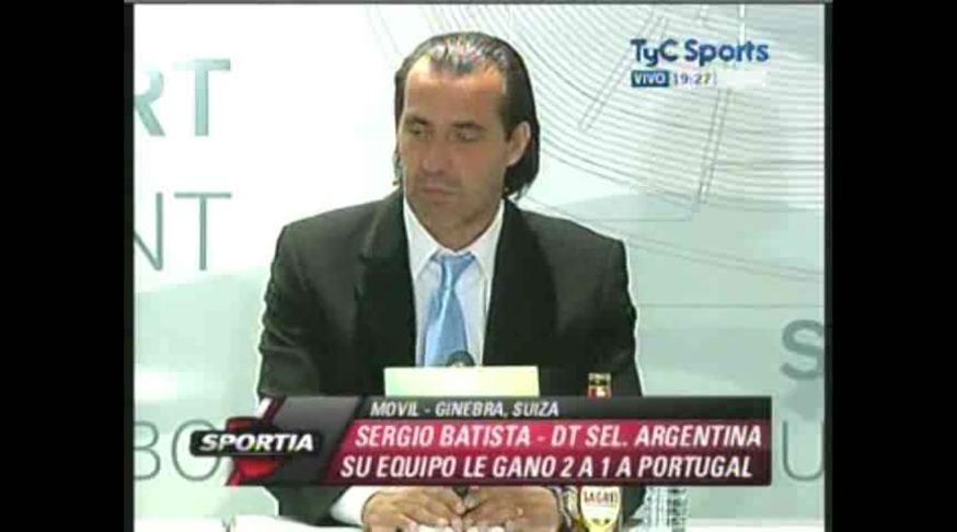 Mirá la conferencia de prensa de Batista. (TyC Sports)