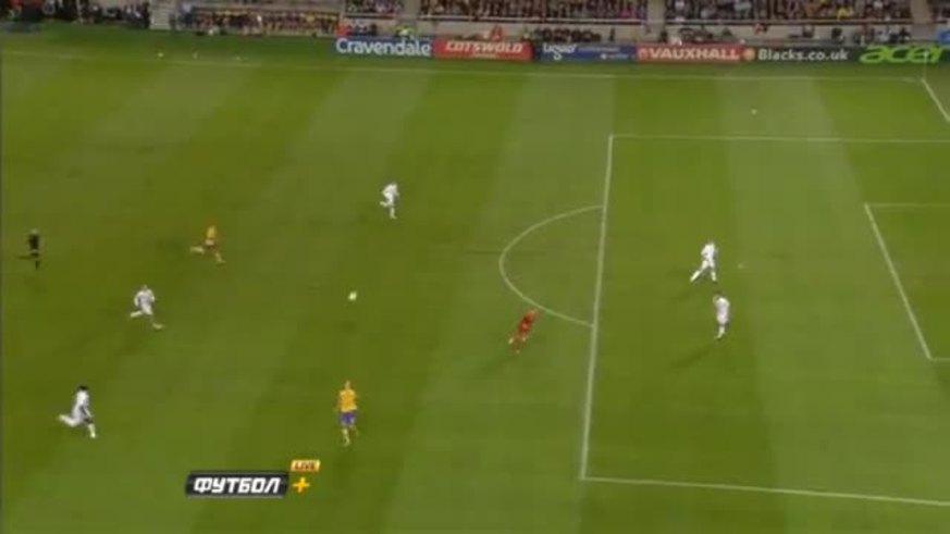 Mirá el golazo de chilena de Ibrahimovic.