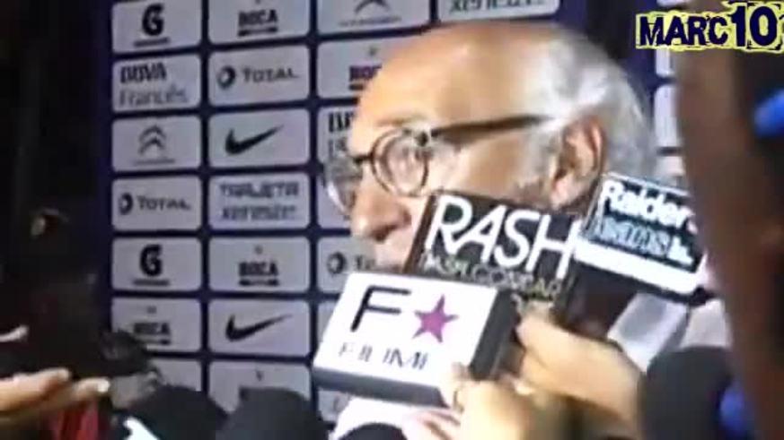 La palabra de Bianchi post empate en Rafaela.