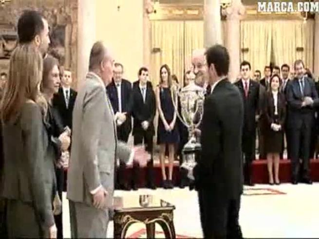 Lucha Aymar fue premiada por el Rey de España. (www.marca.com).