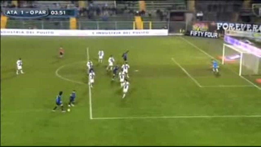 El 1-0 de Denis vs. Parma.