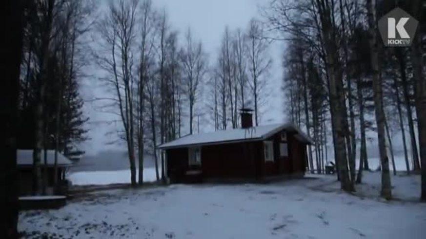 Los trucos del arquero en Finlandia.