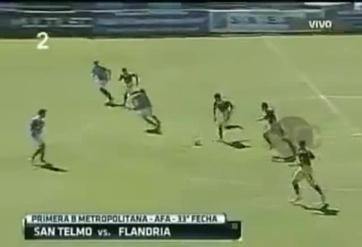 Un gol en ocho segundos