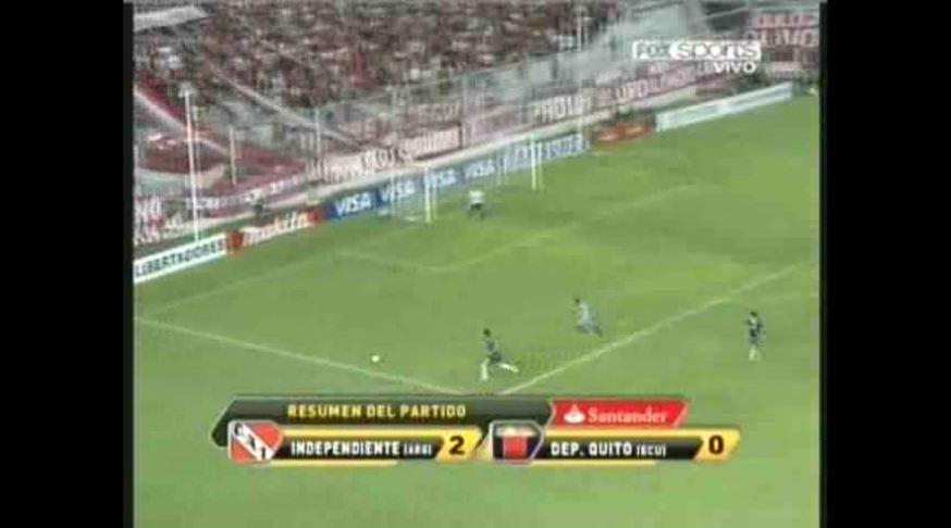 Mirá los goles de Independiente - Deportivo Quito. (FOX SPORTS)