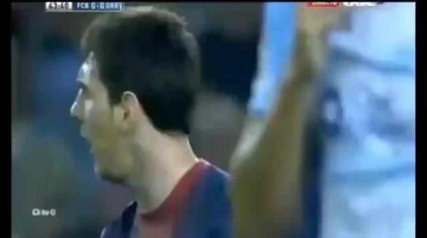 Mirá la discusión entre Messi y Villa.