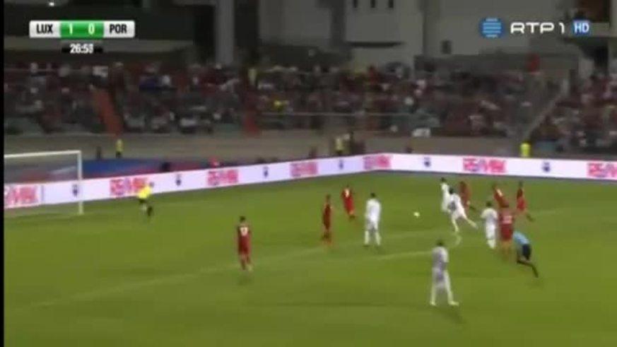Mirá los goles de Luxemburgo - Portugal.