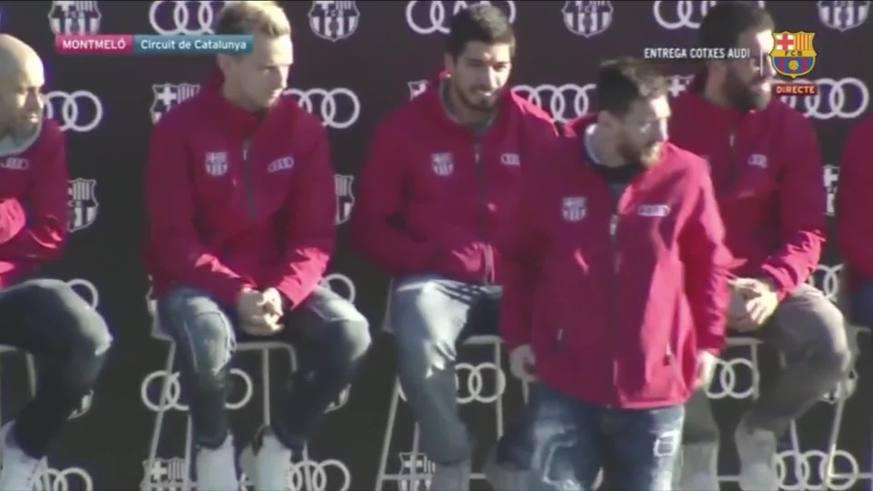 Messi se llevó un auto de regalo