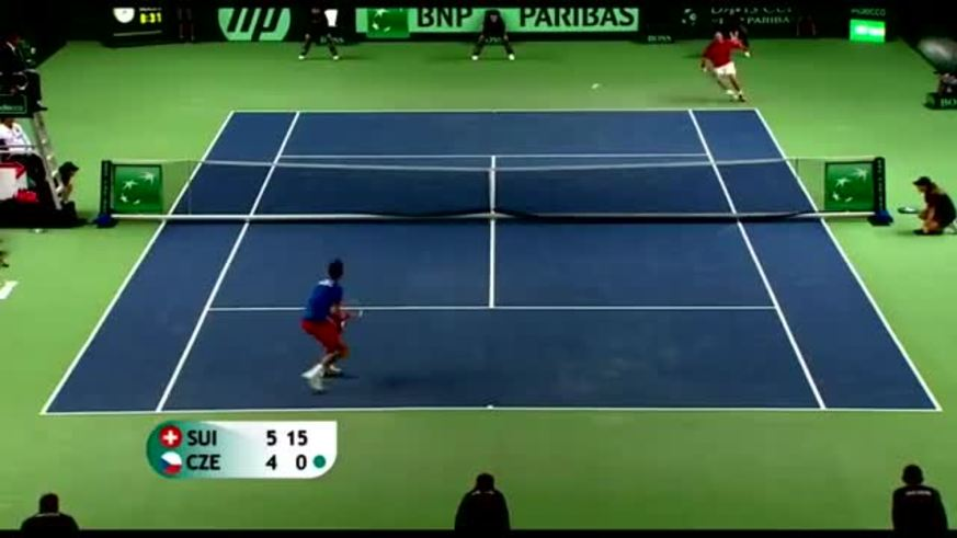 Mirá la Gran Willy de Rosol vs Wawrinka.