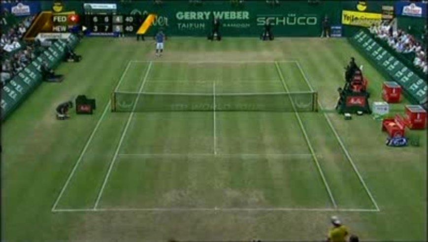 El triunfo de Hewitt sobre Roger. (Youtube.com)