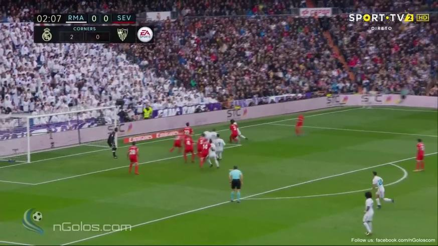 Nacho marcó el primero del Real Madrid