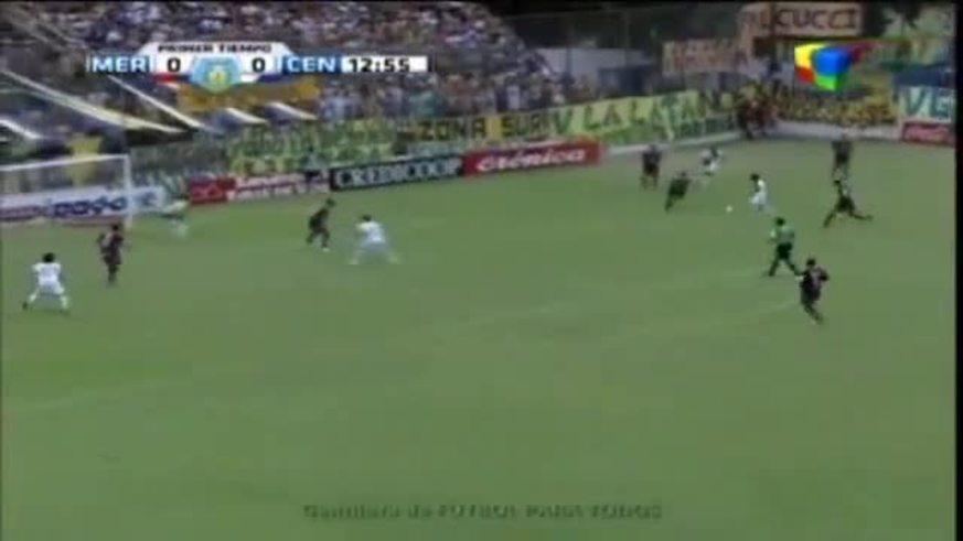 Los goles de Merlo 1 - Central 2.