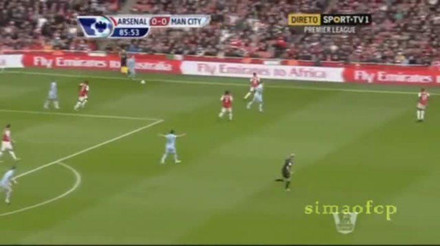 Mirá el gol de Arsenal 1 - Manchester City 0.