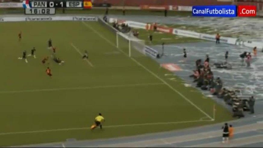 Mirá los goles de Panamá 1 - España 5.