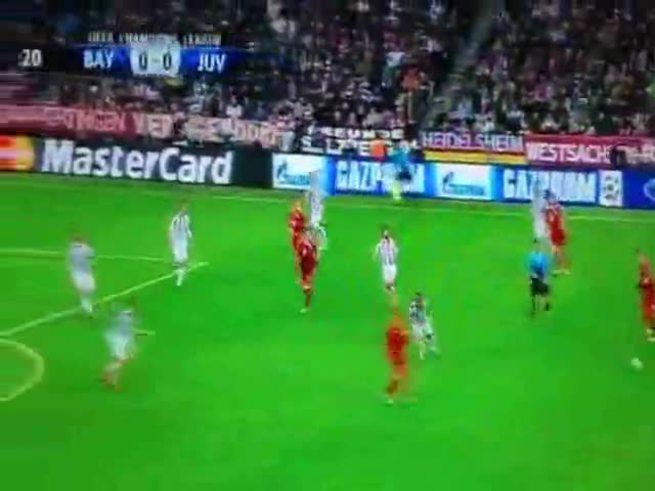 El gol de Alaba para Bayern
