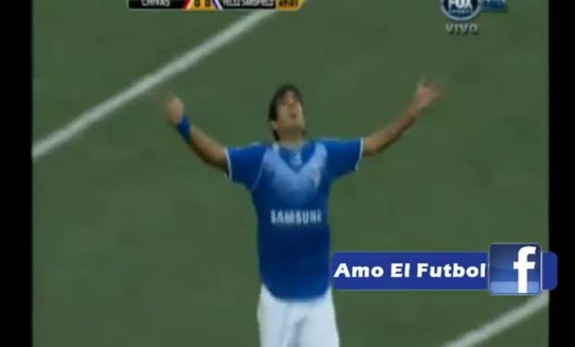 Mirá los goles de Chivas 0 - Vélez 2.