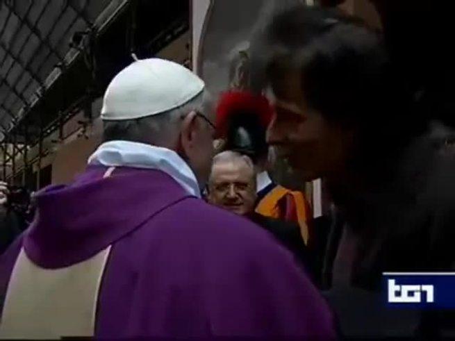 """""""Que gane San Lorenzo"""", fue el deseo del Papa Francisco."""