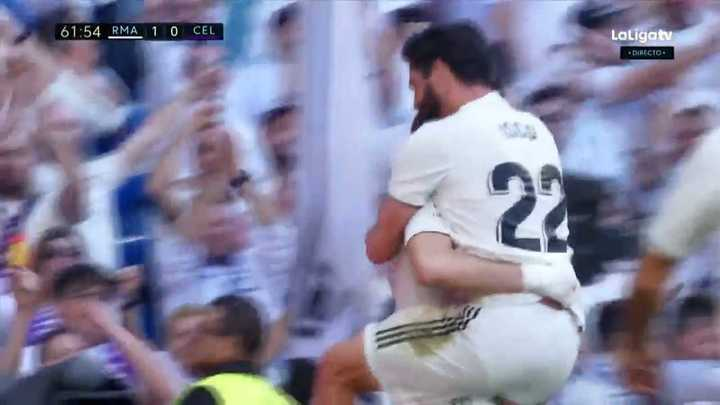 Isco metió el primero del Real Madrid
