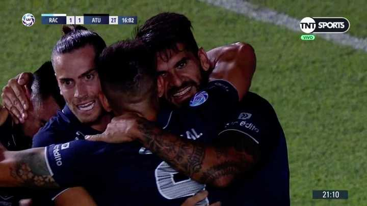 Toledo empató para Atlético Tucumán