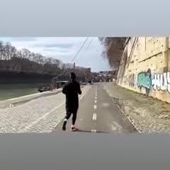 De Rossi se entrena en Italia