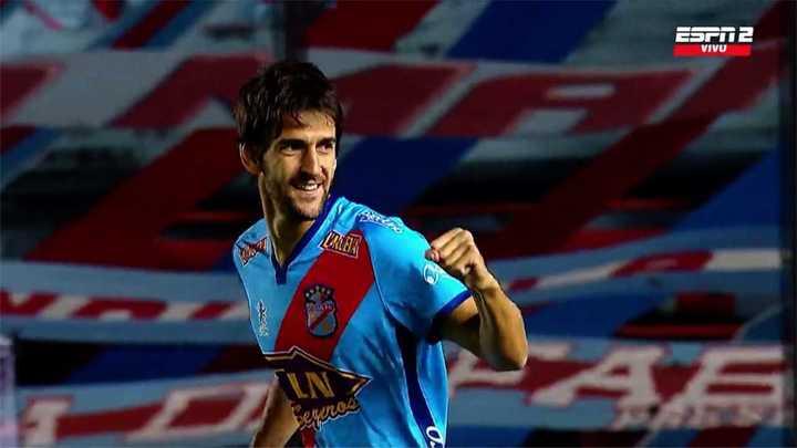 Albertengo marcó el 1 a 0 al minuto del inicio del partido