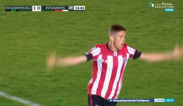 El Pincha lo empató con gol de Estévez
