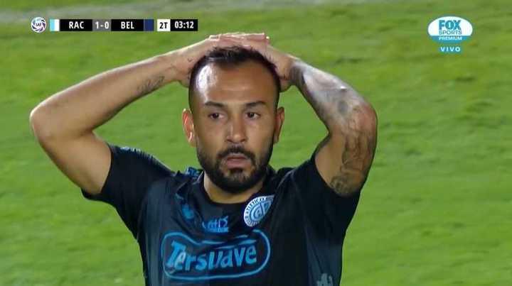 Increíble el gol que perdió Belgrano