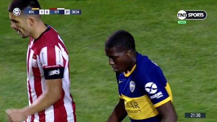 Jan Hurtado no pudo marcar el segundo