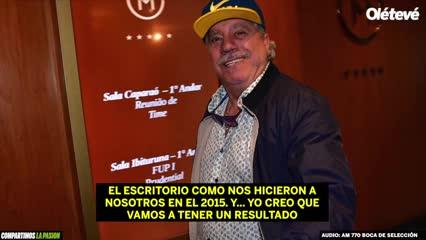 Crespi cree que le van a dar por ganada la Libertadores a Boca