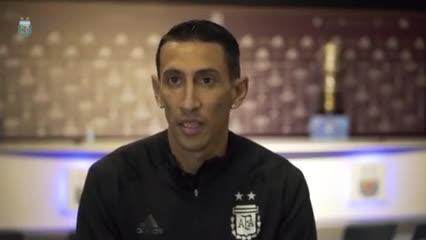 Di María habló en la previa del partido contra Perú