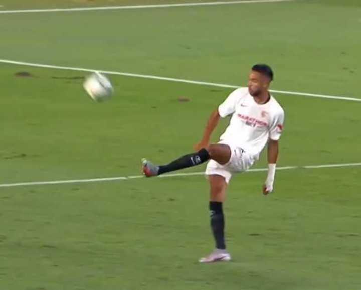 El 2 a 0 del Sevilla