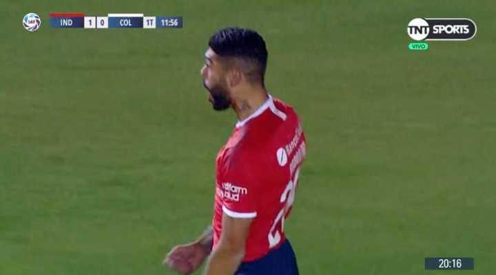 El Rojo se puso arriba con un gol en contra