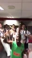 Los jugadores del Mineiro festejaron el descenso de Cruzeiro
