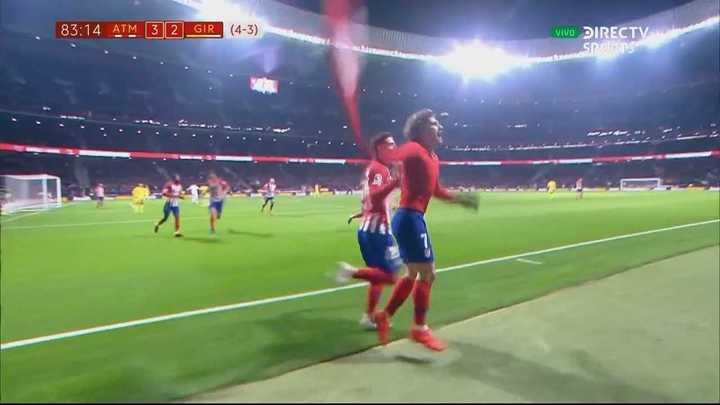 Greizmann puso arriba al Atlético