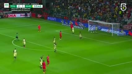 Toluca derrotó 3-1 al América