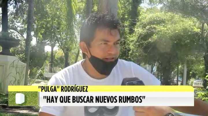 El Pulga Rodríguez dijo que su intención es dejar Colón