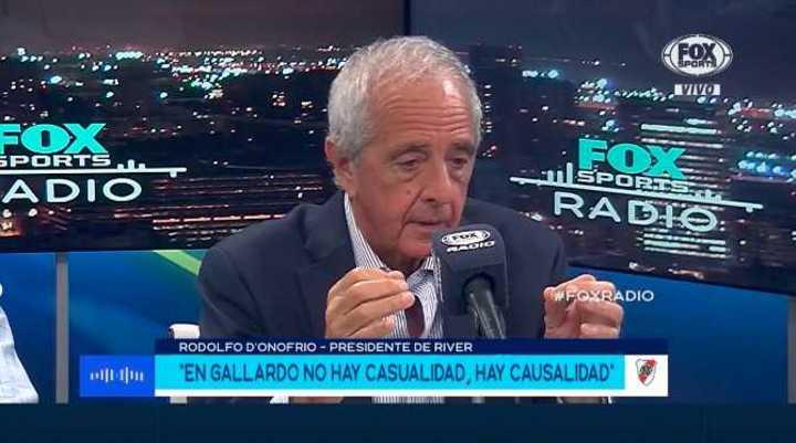 """""""La mejor elección fue traer a Marcelo Gallardo"""""""